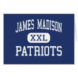 Centro Madisonville de los patriotas de James Madi Tarjetón