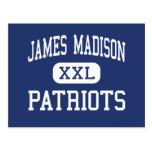 Centro Madisonville de los patriotas de James Madi Tarjeta Postal
