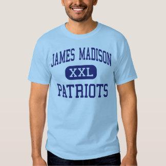 Centro Madisonville de los patriotas de James Playeras