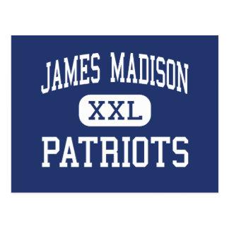 Centro Madisonville de los patriotas de James Tarjetas Postales