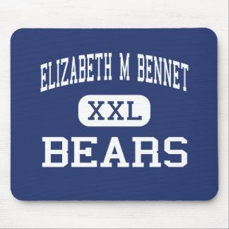 Centro Manchester de los osos de Elizabeth M Benne Tapetes De Ratón