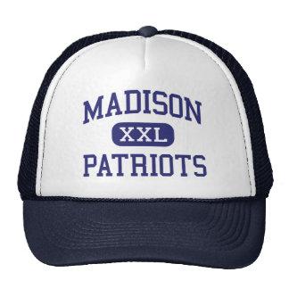 Centro Marshall de los patriotas de Madison Gorros Bordados