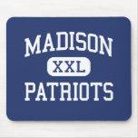 Centro Marshall de los patriotas de Madison Tapetes De Raton
