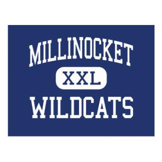 Centro Millinocket de los gatos monteses de Tarjetas Postales