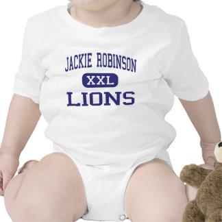 Centro Milwaukee de los leones de Jackie Robinson Trajes De Bebé