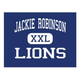 Centro Milwaukee de los leones de Jackie Robinson Tarjeta Postal