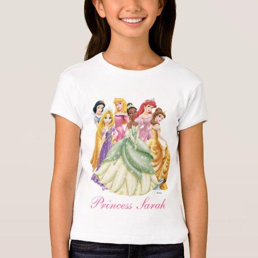 Centro ofrecido Tiana de la princesa el | de Camisas