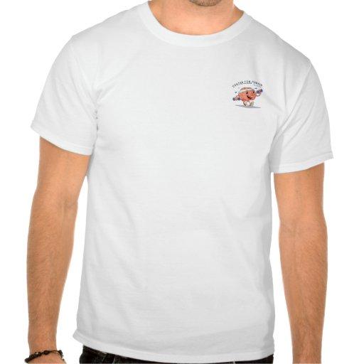 Centro para el entrenamiento del cerebro camisetas