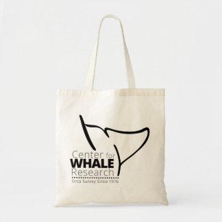 Centro para la investigación de la ballena - bolso bolsa tela barata