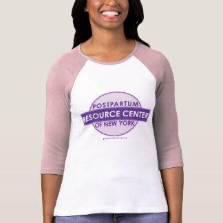 Centro postparto del recurso de la camiseta del polera