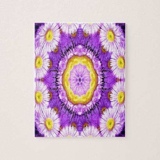 centro púrpura de la fantasía del amor puzzles con fotos