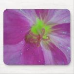 Centro púrpura de la flor de Mousepad Alfombrilla De Raton