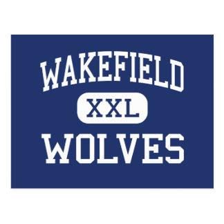 Centro Raleigh de los lobos de Wakefield Tarjetas Postales