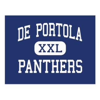 Centro San Diego de De Portola Panthers Tarjeta Postal