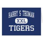 Centro San José de los tigres de Harry S Truman Tarjetas