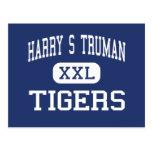 Centro San José de los tigres de Harry S Truman Tarjetas Postales