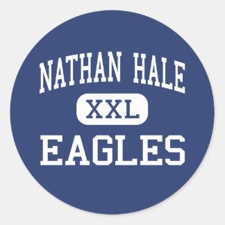 Centro sano Northvale de Nathan Eagles Pegatinas Redondas