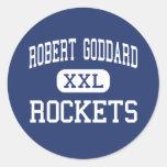 Centro Seabrook de Roberto Goddard Rockets Pegatinas Redondas