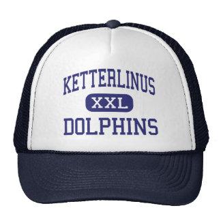 Centro St Augustine de los delfínes de Ketterlinus Gorros Bordados