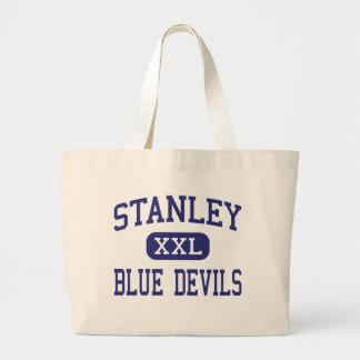 Centro Stanley de los diablos azules de Stanley Bolsas De Mano