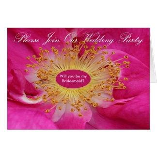 Centro subió invitación del banquete de boda tarjeta