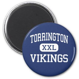 Centro Torrington de Torrington Vikingos Imán Redondo 5 Cm