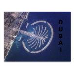 Centro turístico árabe de la Palma-Isla de Dubai d Tarjeta Postal