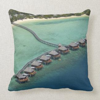 Centro turístico de la laguna de Likuliku isla de Almohada