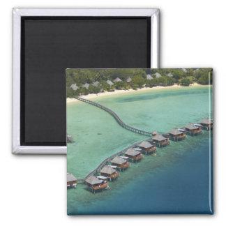 Centro turístico de la laguna de Likuliku, isla de Iman