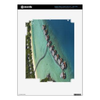 Centro turístico de la laguna de Likuliku, isla de iPad 3 Skins