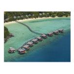 Centro turístico de la laguna de Likuliku, isla de Postales
