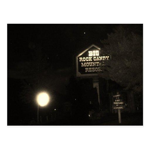 Centro turístico de montaña grande del caramelo de postales