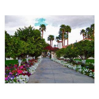 Centro turístico del desierto de California Tarjetas Postales