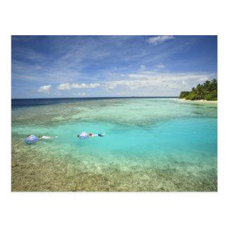Centro turístico isleño de Bandos, atolón Postal