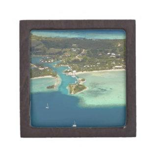 Centro turístico isleño de la ensenada del mosquet caja de regalo de calidad