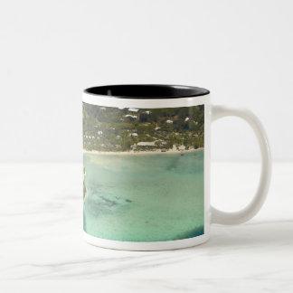 Centro turístico isleño de la ensenada del mosquet taza de café