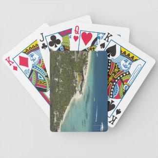 Centro turístico isleño de la plantación, isla 2 d baraja de cartas