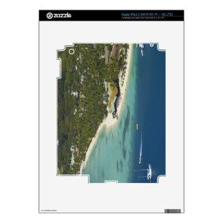 Centro turístico isleño de la plantación, isla 2 d iPad 3 pegatinas skins