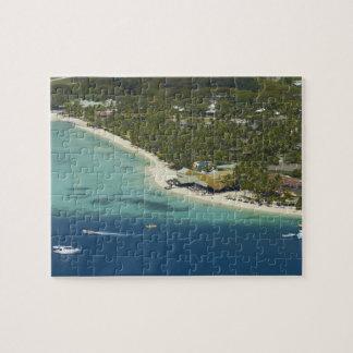 Centro turístico isleño de la plantación, isla 2 d rompecabeza con fotos