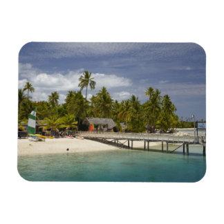 Centro turístico isleño de la plantación, isla 3 d imán flexible