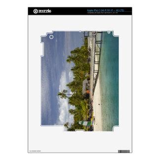 Centro turístico isleño de la plantación, isla 3 d pegatinas skins para iPad 3