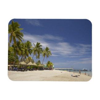 Centro turístico isleño de la plantación, isla 4 d imanes de vinilo