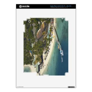 Centro turístico isleño de la plantación, isla de  pegatina skin para iPad 3