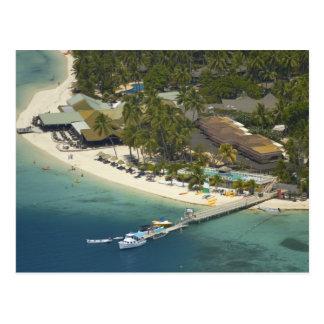 Centro turístico isleño de la plantación, isla de postal
