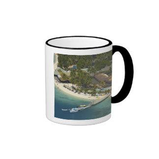 Centro turístico isleño de la plantación, isla de  taza de café
