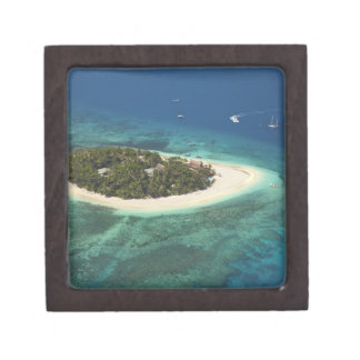 Centro turístico isleño del Beachcomber, Fiji Cajas De Regalo De Calidad