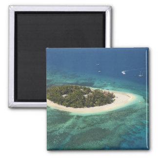 Centro turístico isleño del Beachcomber, Fiji Imán Para Frigorifico