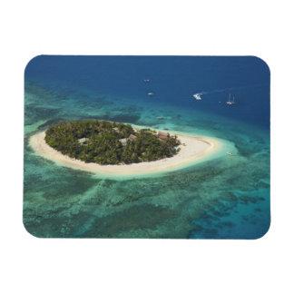 Centro turístico isleño del Beachcomber, Fiji Imanes Flexibles