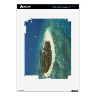 Centro turístico isleño del Beachcomber, Fiji iPad 3 Skins