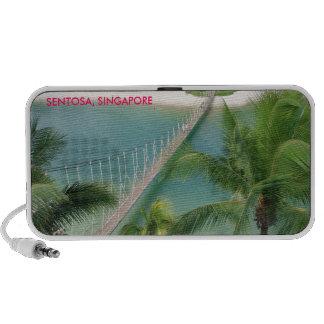 Centro turístico tropical Sentosa Singapur de la f iPhone Altavoces